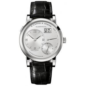Copy A.Lange & Sohne Lange 1 Platinum Mens Watch 191.025