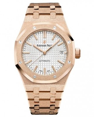 Copy Audemars Piguet Royal Oak Frosted Gold Watch 15454OR.GG.1259OR.01