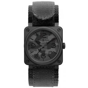Copy Bell & Ross Aviation BR 03-92 Black Camo Watch BR 03-92 BLACK CAMO