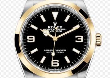 Rolex Explorer Yellow Rolesor Watch M124273-0001
