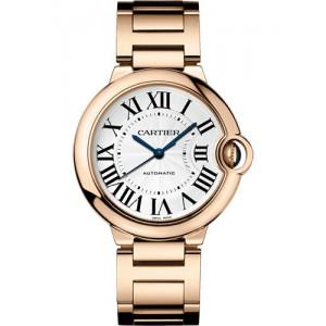 Copy Cartier Ballon Bleu De Cartier 36mm Ladies Watch WGBB0008