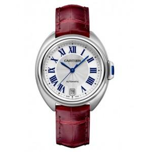 Copy Cartier Cle De Cartier 35mm Watch WSCL0017