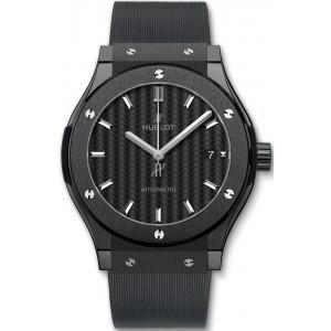 Copy Hublot Classic Fusion 45mm Black Magic Watch 511.CM.1771.RX
