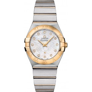 Copy Omega Constellation Pluma Watch 123.20.27.60.55.008