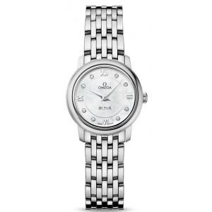 Copy Omega De Ville Prestige 24.4mm Ladies Watch 424.10.24.60.55.001