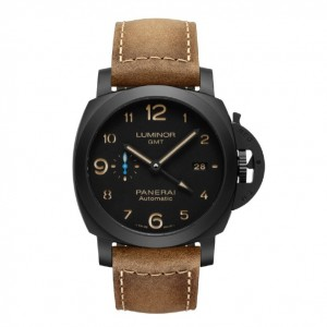 Copy Panerai Luminor 1950 3 Days GMT Ceramica Watch PAM01441
