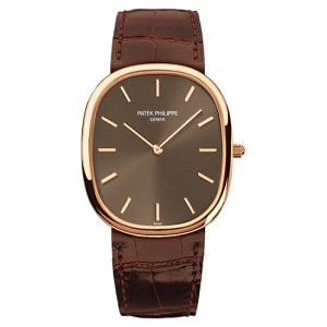 Copy Patek Philippe Golden Ellipse Watch 3738/100R-001