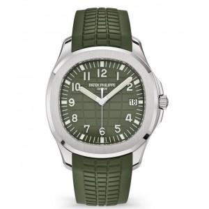 Copy Patek Philippe Aquanaut Khaki Green Watch 5168G-010