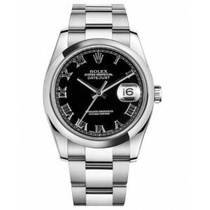 Copy Rolex Datejust 36mm Watch 116200 BKRO