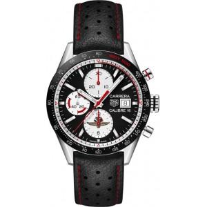 Copy TAG Heuer Carrera Calibre 16 41mm Watch CV201AS.FC6429
