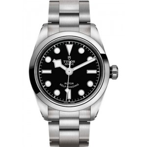 Copy Tudor Black Bay Black Dial 32mm Watch M79580-0001