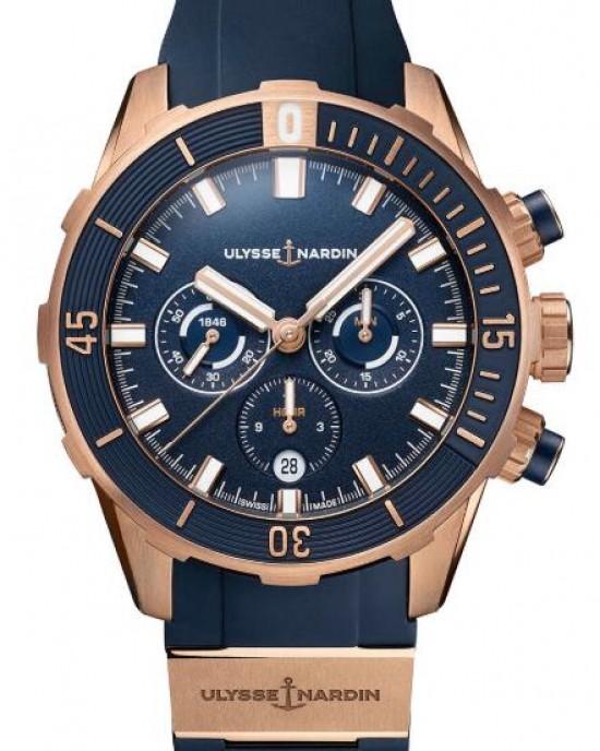Copy Ulysse Nardin Diver Chronometer 44mm Mens Watch 1502-170-3/93