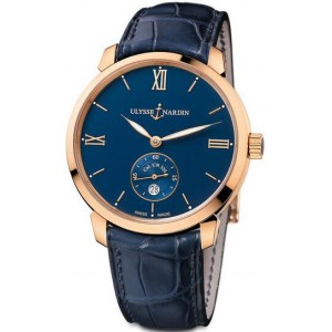 Copy Ulysse Nardin Classico Manufacture Small Second Watch 3206-136-2/33